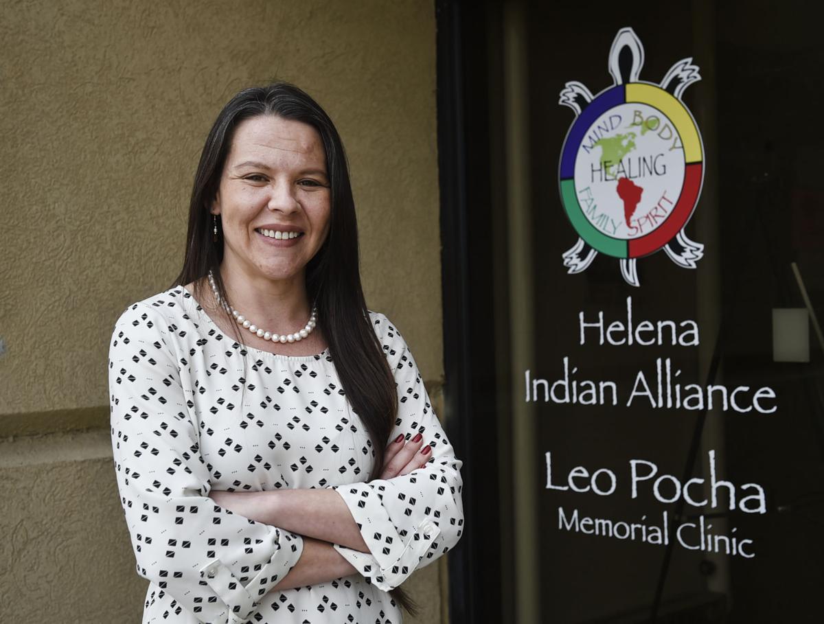 Tressie White, Director of the Leo Pocha Memorial Clinic in Helena.