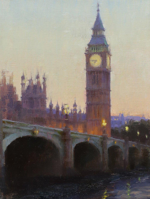 'London Twilight' by Daniel Keys