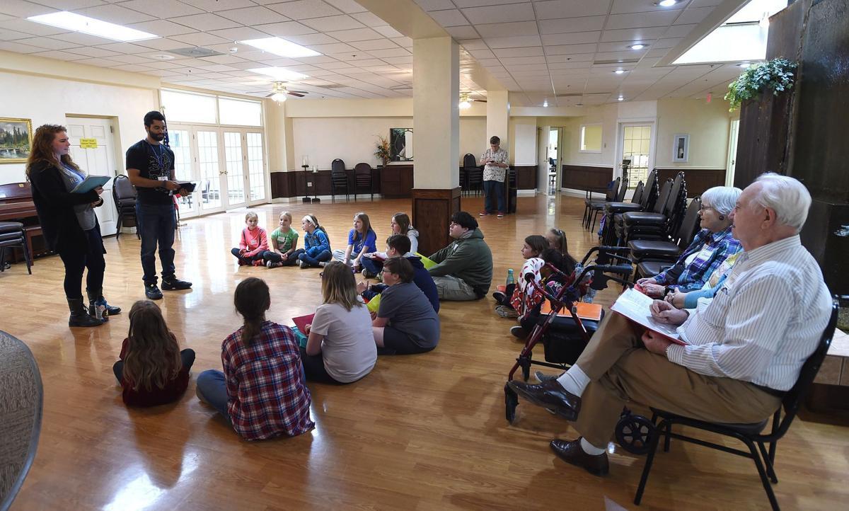 Missoula Childrens Theatre rehearsal