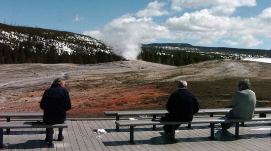 Spring visitors cherish Yellowstone's quiet days before summer crush