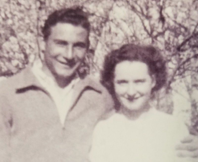 Ed and Grace Landon in 1946
