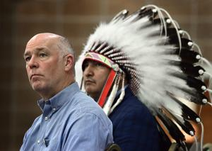 Gianforte, Rosendale running on the Crow agenda, tribal chairman says during endorsement