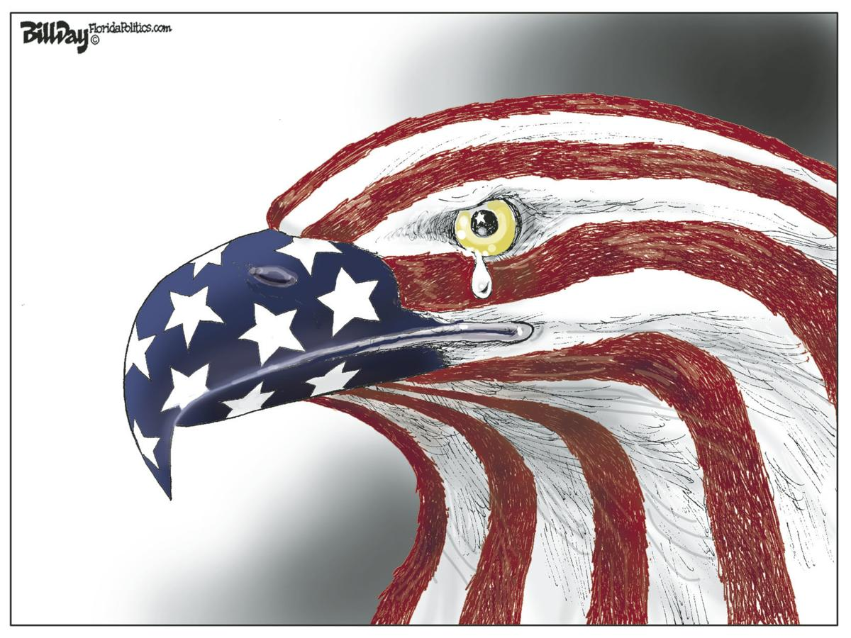Memorial Day eagle tear