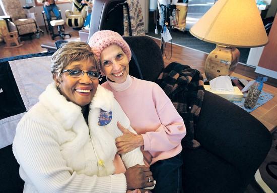 Friendships blossom amid cancer treatments