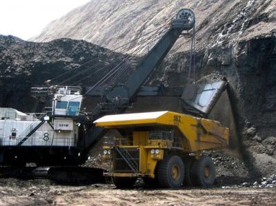 Coal mining in Powder River Basin