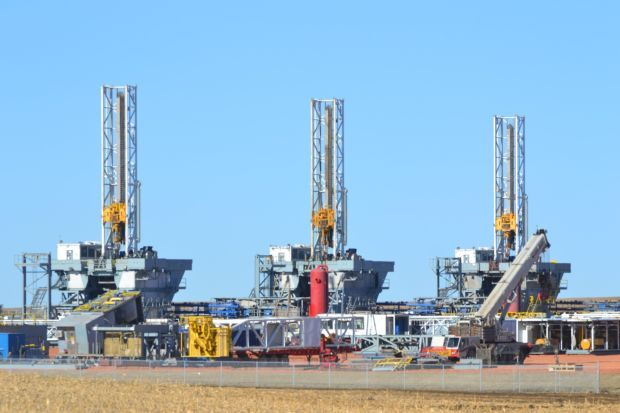 As Drilling Rigs Are Pulled Out Of Service Companies Need To Them Somewhere