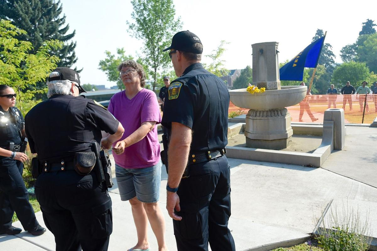 Fountain arrest