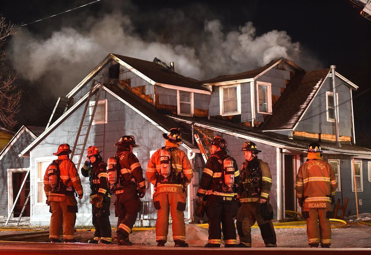Third Street West house fire