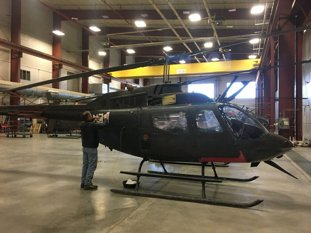 Sheriff's helicopters