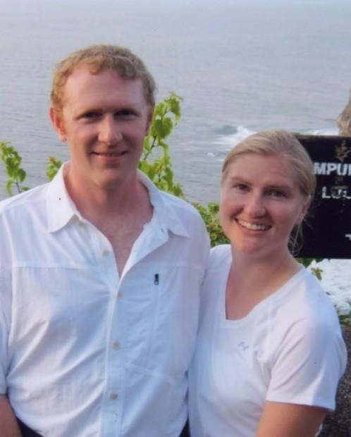 Brad Pascoe and Rita Prinkki