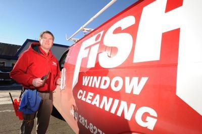 Tom Schwab of Fish Window Cleaning
