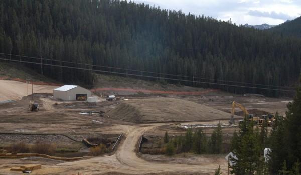 Cooke City mine site