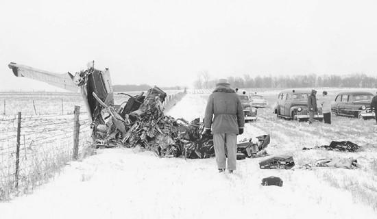 Journalists in Iowa remember scene of crash that killed rockers 50 years ago