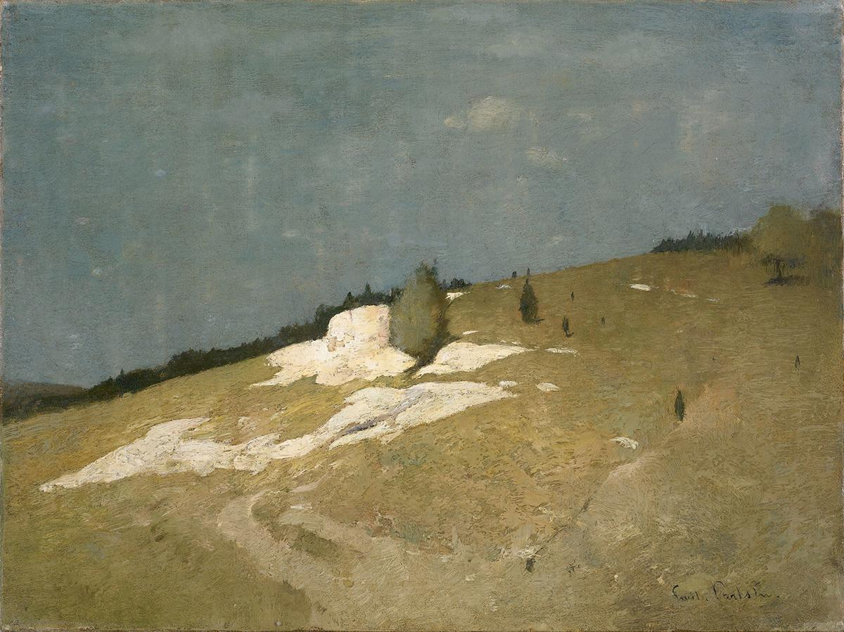 Foothills by Emil Carlsen