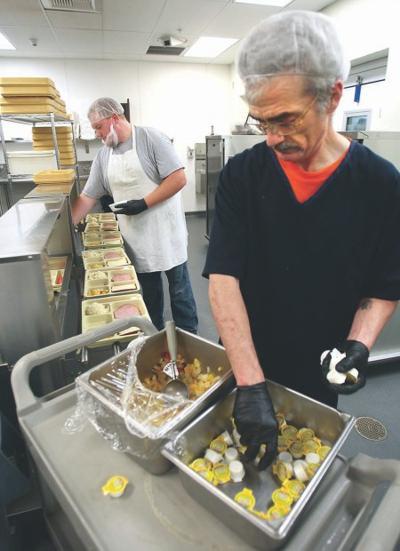 Butte-Silver Bow Detention Center kitchen