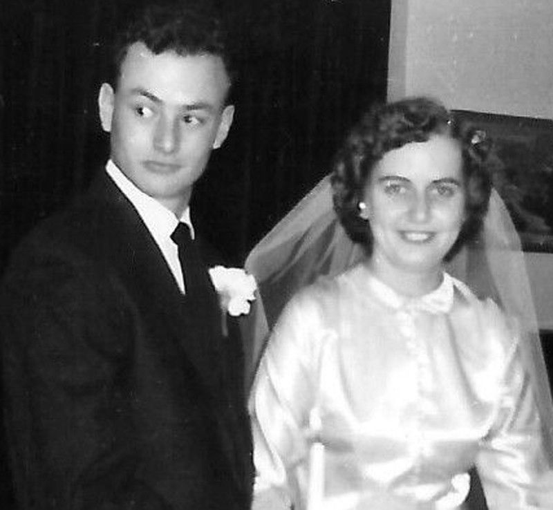 Bob and Mary Ann Parker in 1957