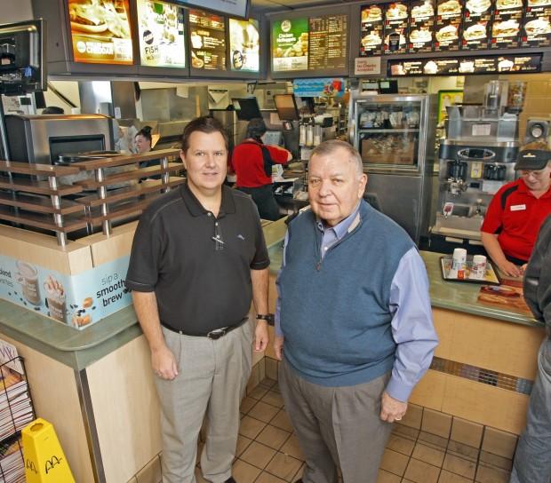 McDonald's Franchisees John and Pat Newbury