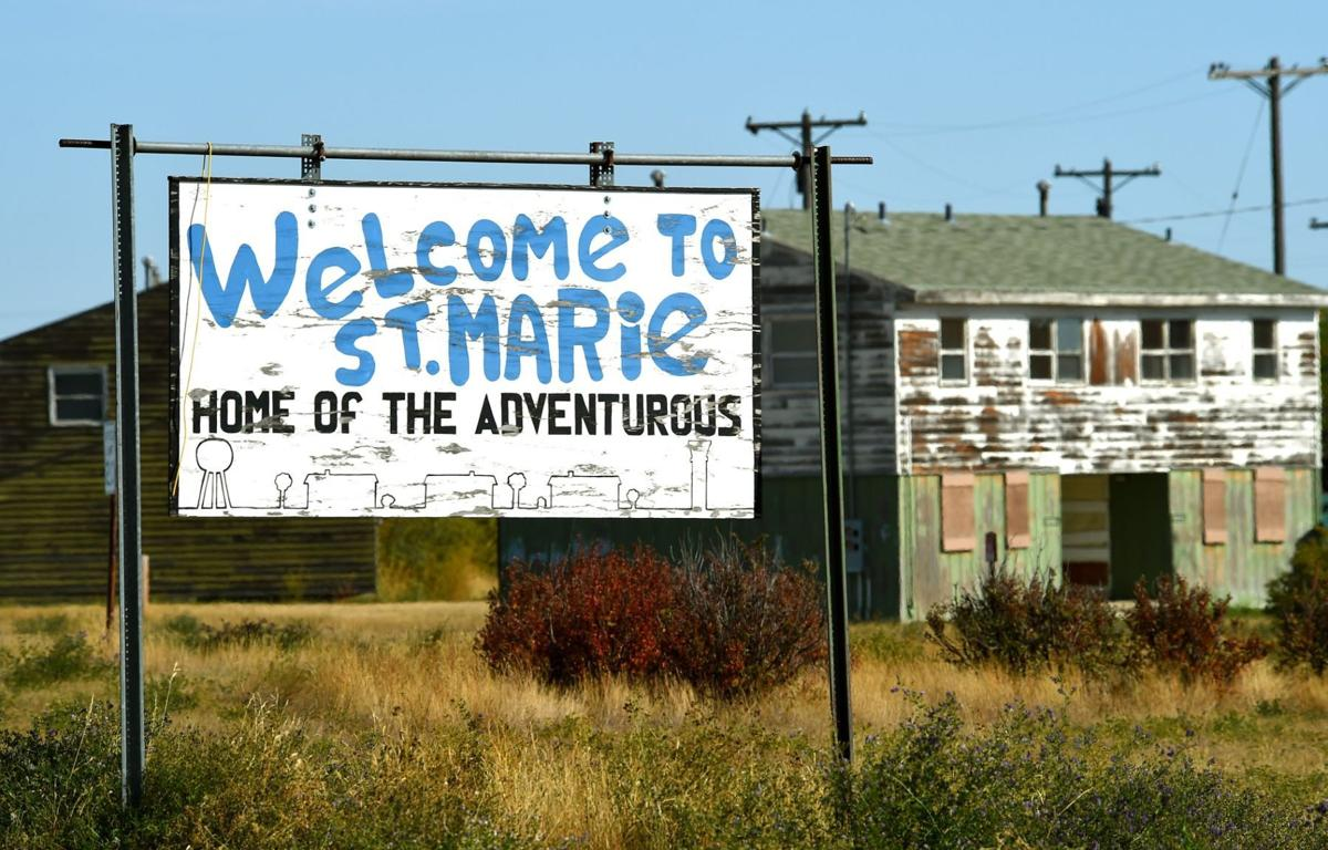 St. Marie sign
