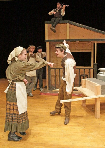 West High Stages Fiddler On The Roof Theatre
