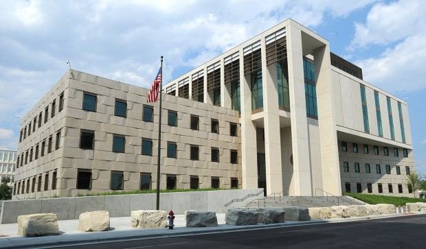 The new federal courthouse