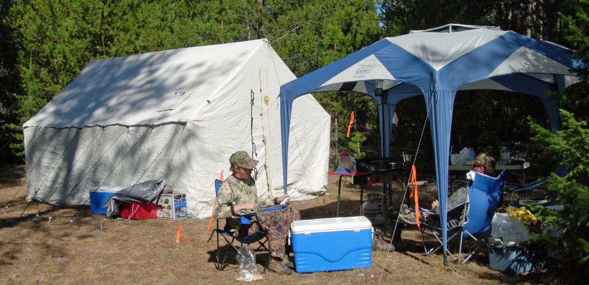 Canvas tents have allure that's expanded beyond hunting ...