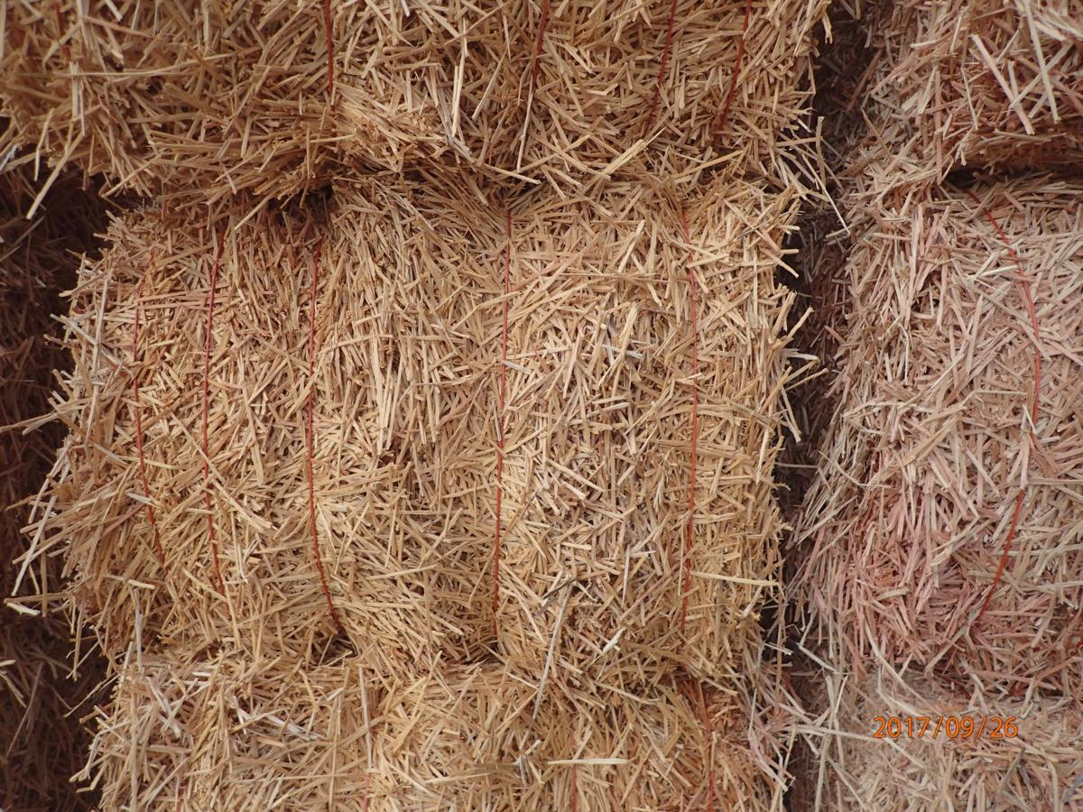 WoodStraw mulch closeup