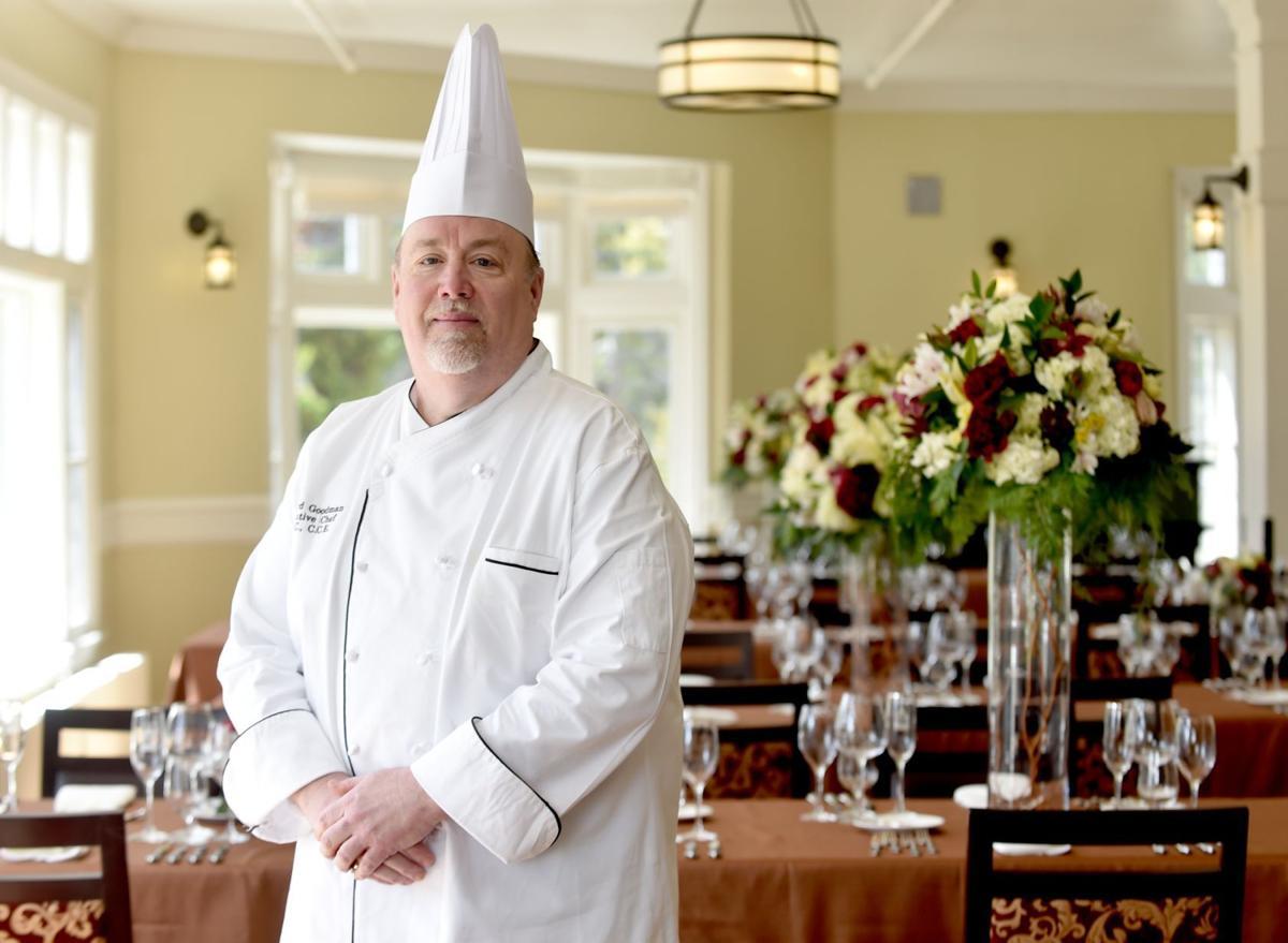 Executive chef Howard Goodman