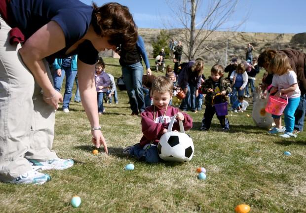 Easter egg hunt at MSU Billings