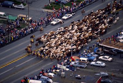 30 years ago the Montana Centennial Cattle Drive put