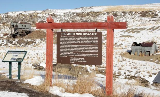 Smith Mine historical marker