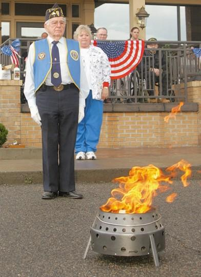 Flag Day Retirement: a photo essay