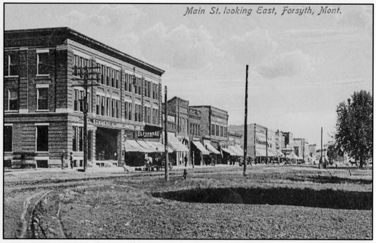 Main Street, Forsyth, ca. 1910
