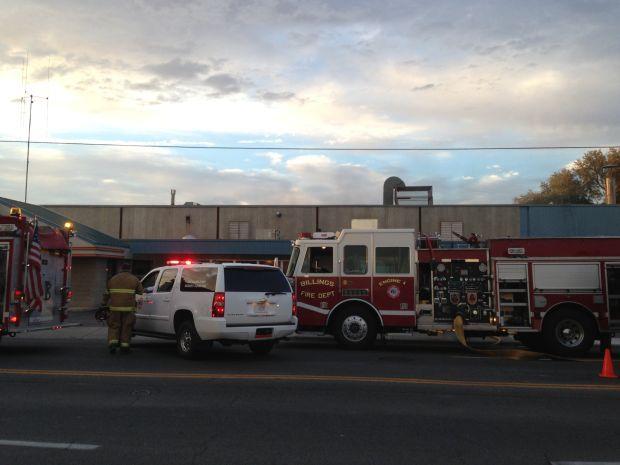 Fire at Big Sky Linen and Uniform