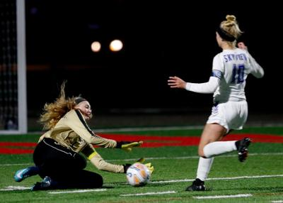 West vs. Skyview girls soccer