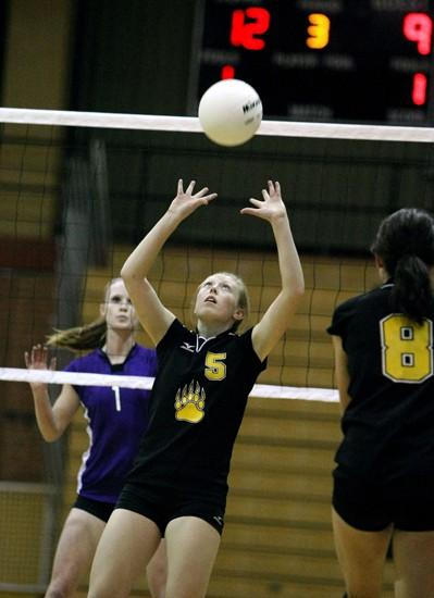 West spikers advance to State AA tourney