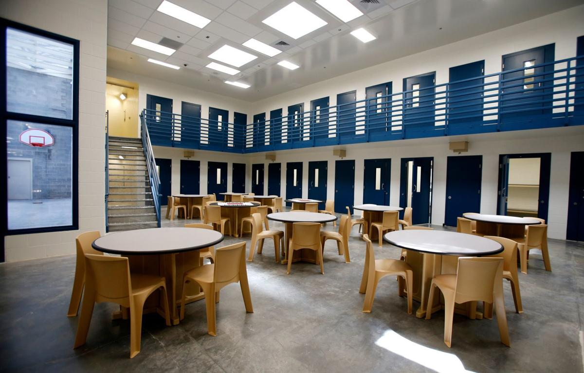 Women's wing of the Yellowstone County Detention Facility