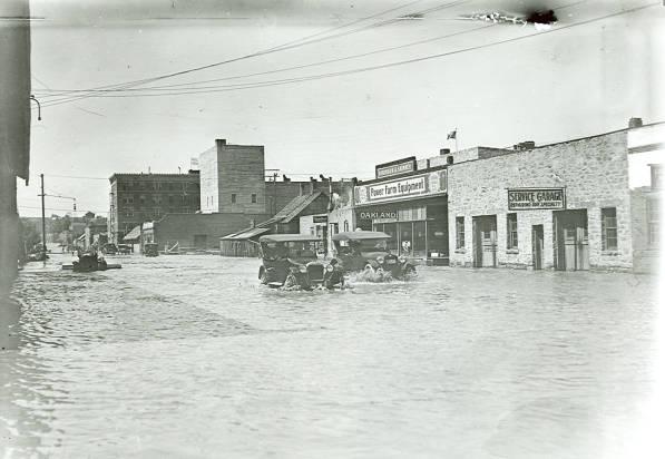 Jeneaux st. flooding