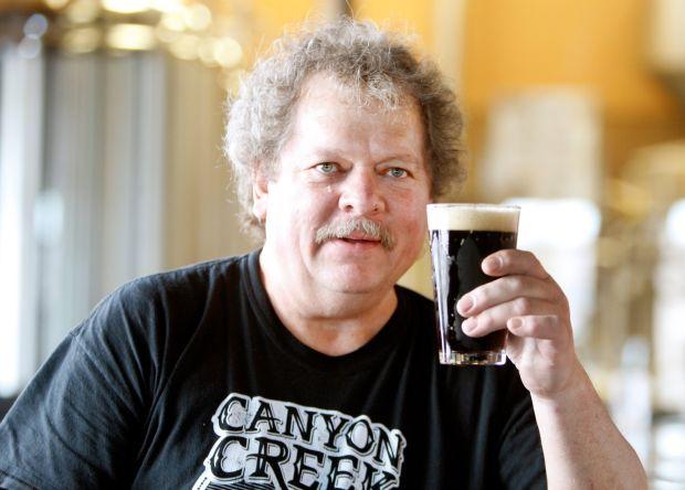 Brewer Ron Kalvig of Canyon Creek Brewing