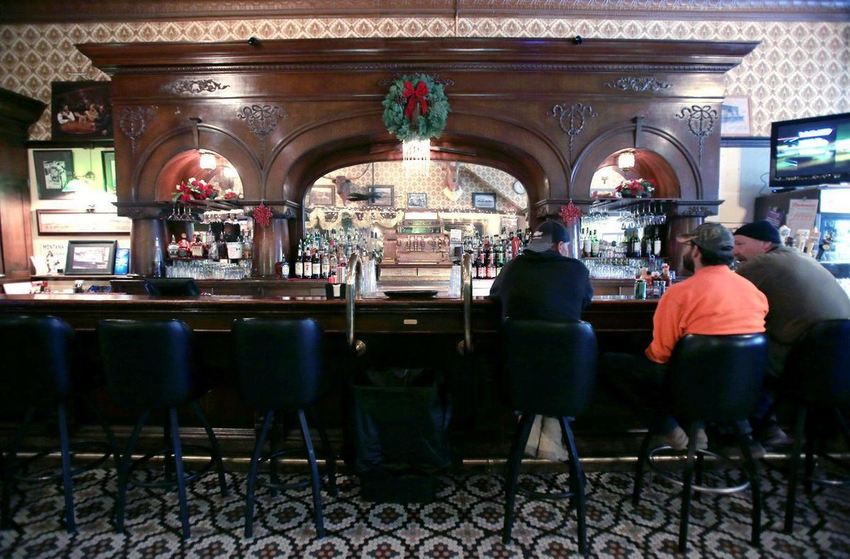 Montana Bar Brunswick back bar