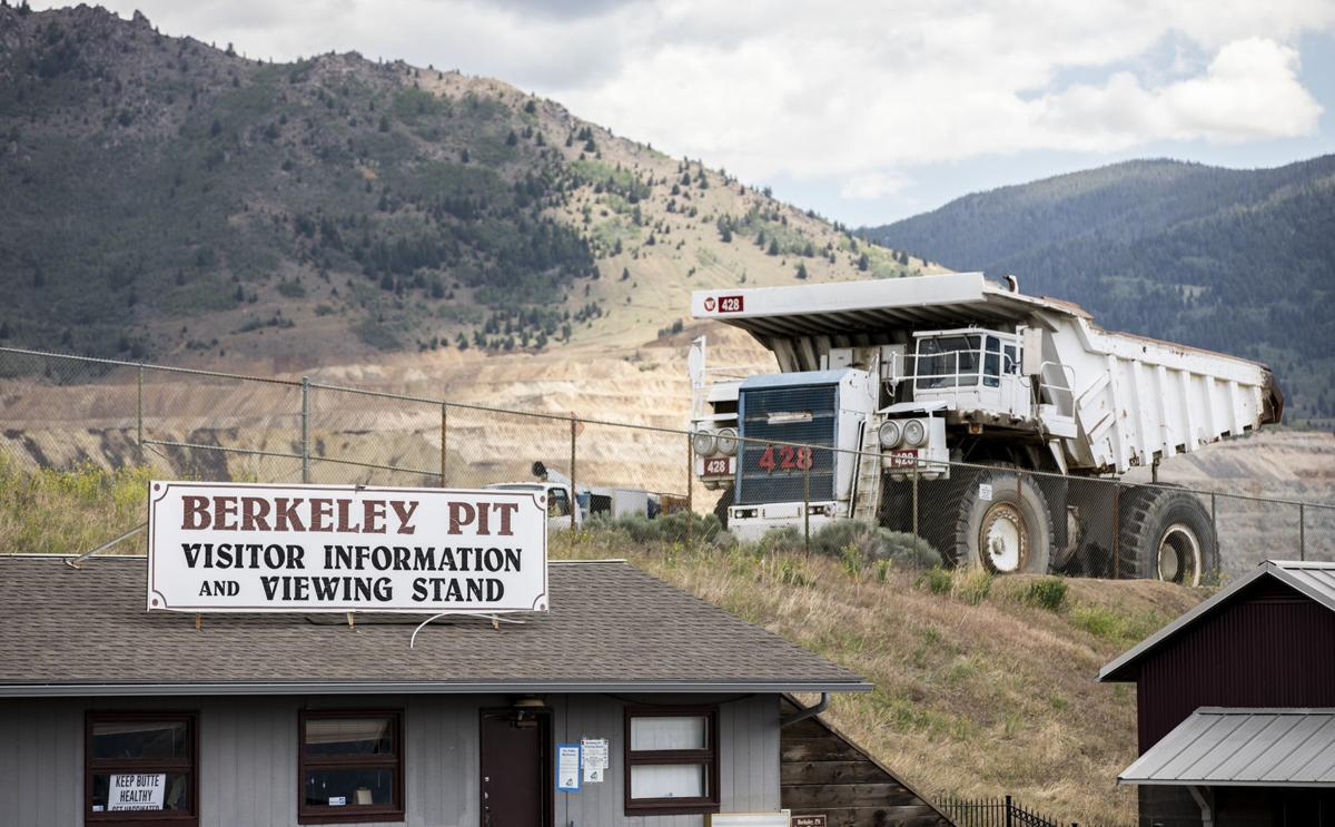 Montana Resources places haul truck at Berkeley Pit viewing stand