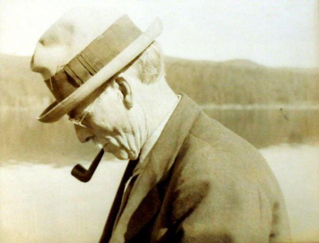 A portrait of the Rev. John Maclean