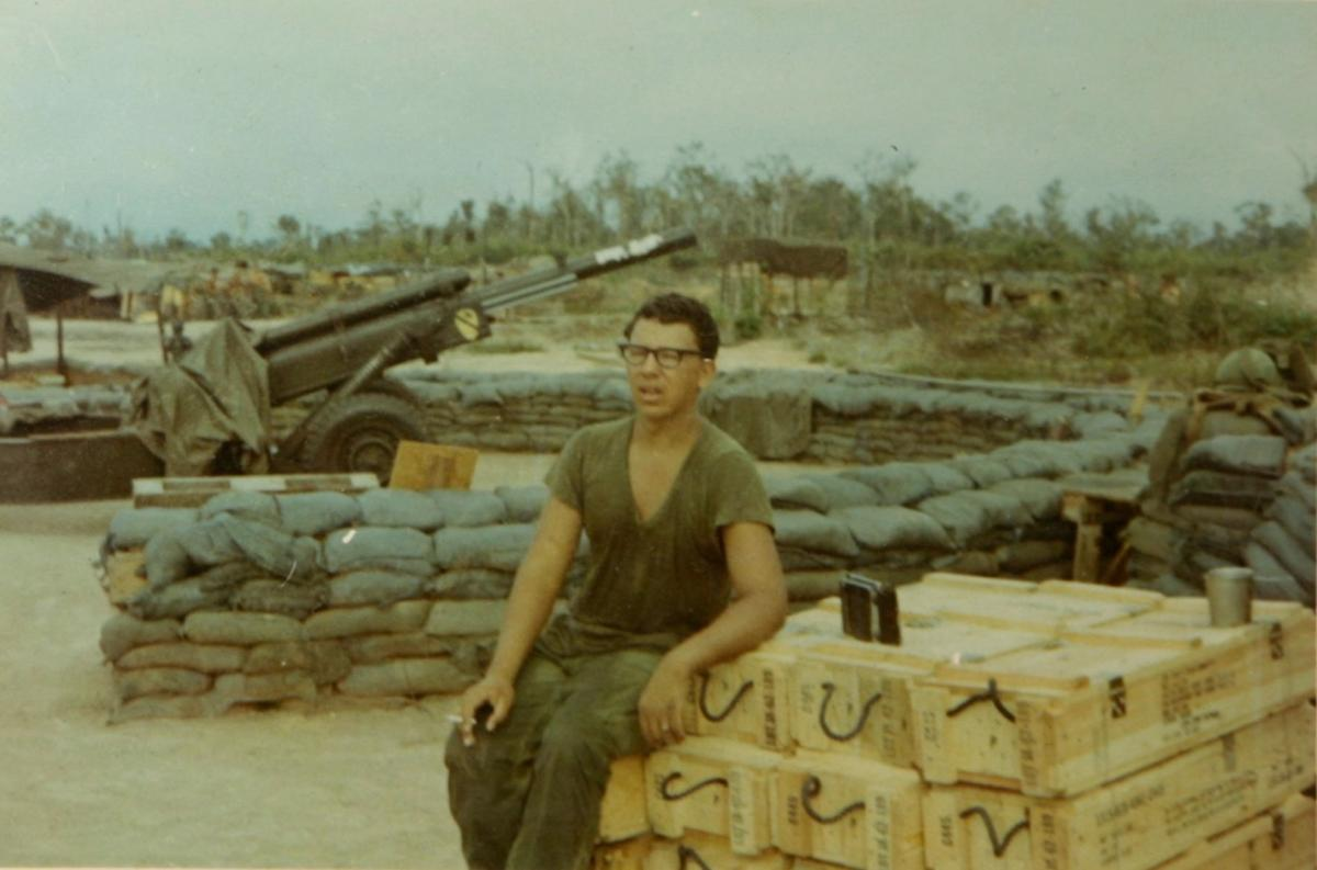 Vietnam veteran Douglas Kirn