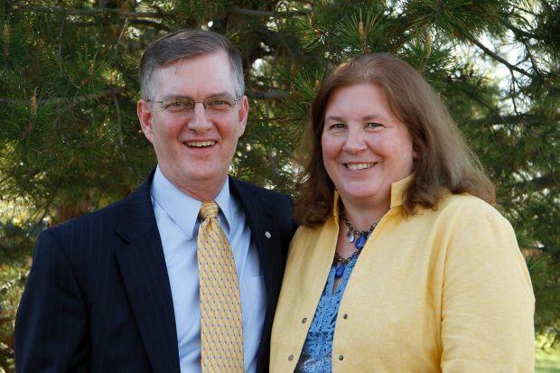 Mark Nook and Cheryl Nook