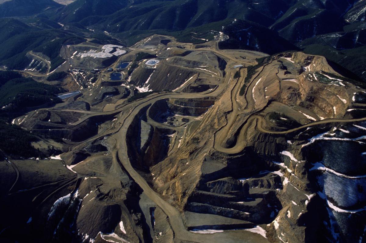 Zortman Mine, April 1990