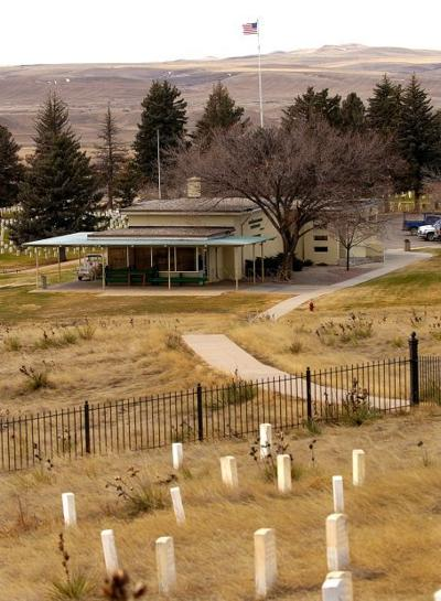 Battlefield visitor center
