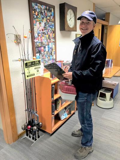 Loaner fishing gear