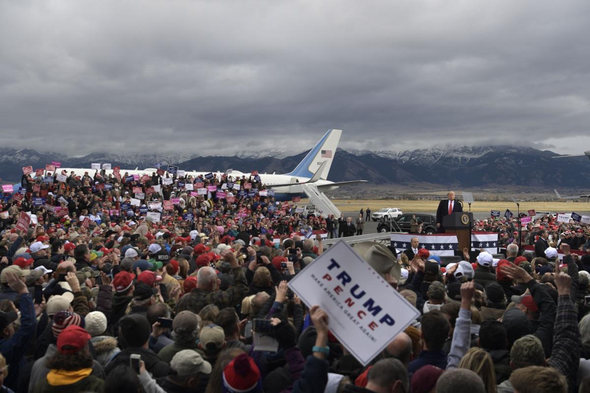 President Trump visits Bozeman