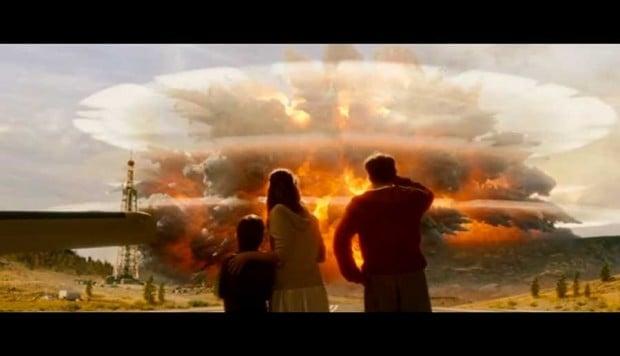 Caldera explosion
