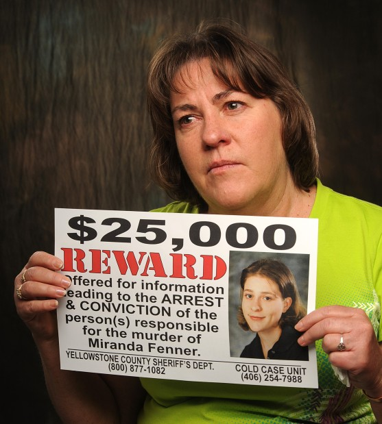 Sherry Fenner talks about a new round of reward posters