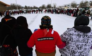 Family and friends march to mourn Northern Cheyenne teen found dead